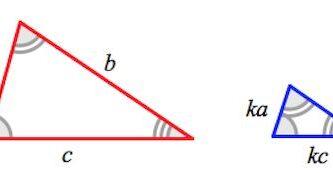 triangulos semejantes ejercicios resueltos